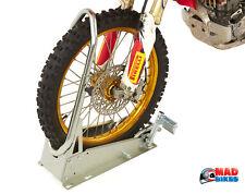 ACEBIKES Moto Motocross, bicicleta MX Enduro rueda delantera Soporte de sujeción Cuña