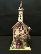 "Blue Sky Clayworks Church ""Serenity"" Spring by Heather Goldminc Retired"