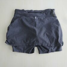 Athleta Contender Athletic Skort Size Medium M Gray Shorts Under Skirt Stretch