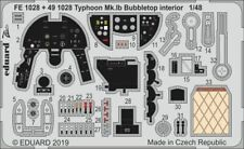 Eduard 1/48 Hawker Typhoon Mk.Ib Bubbletop Interior Zoom Set # FE1028