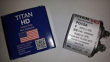 TITAN HD RUN CAPACITOR 5MFD 370VAC 5-370 CAP 12005 12905 MADE IN USA POC5A
