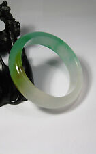 Luz Natural Verde / Ambar Y Blanco Jade Brazalete 60mm * 14mm