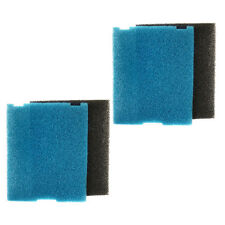 2-pack HQRP Coarse & Fine Flat Box Filter Foam Pad for Tetra 19015 26592 26593