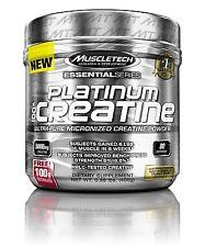 MuscleTech Platinum 100% Creatine Micronized Monohydrate Powder - 400-Gram