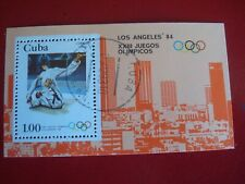 CENTRAL AMERICA :1983 OLYMPIC JUDO  MINISHEET UNMOUNTED USED MINIATURE SHEET