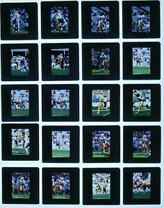 LCM7-29 NFL 1996 Tampa Bay Buccaneers Dilfer Mayberry (119pc) ORIG 35mm Slides
