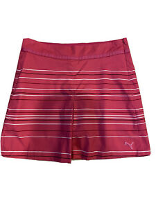 Puma Cell Sport Life Style Ladies Size 8 Pink Golf Skort