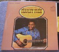Charley Pride COUNTRY CHARLEY PRIDE LP Album, Vinyl, 1966 RCA Victor LSP 3645