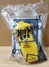 Hot Wheels ~ #5 Land Crusher ~ McDonalds Happy Meal Toy 2017