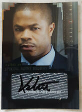X-Files I Want To Believe Trading Card A5 Xzibit Special Agent Drummy Autograph