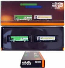 Marklin Z Scale 82383  (SBB) Type Hbbillns Sliding Wall Boxcar- Original Box  C9