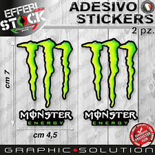Adesivo Sticker 2.PZ MONSTER GRAFFIO DUCATI DRINK HONDA KTM RACING  SUZUKI