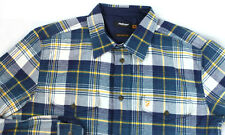 Farah Vintage Flannel Cotton Long Sleeve Button Shirt M New without Tags NWOT