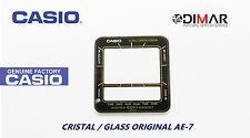 VINTAGE GLASS CASIO AE-7 NOS