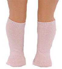 Thick White Knee High Socks Fits 18 inch American Girl Dolls