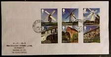 GB 2017 Commemorative Very fine used set of Windmills and Watermills Stamps