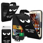 Per Samsung Galaxy S Duos 3 Stampato Clip su sintetica Cover Custodia Flip Pelle