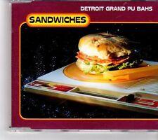 (FK553) Detroit Grand Pu Bahs, Sandwiches - 2000 CD