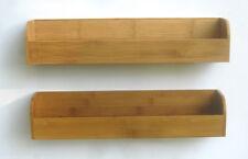Magnetic Spice Rack & Storage Shelf - set of 2 racks and 6 pc.set of utensils