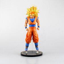 "Dragon Ball Z Japanese Anime Super Saiyan 3: Son Gokou 11"" Statue Toy Figure"