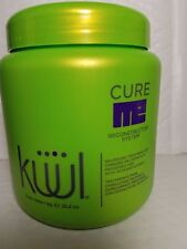 KUUL RECONSTRUCTOR SYSTEM CURE ME TREATMENT FOR DAMAGED HAIR 35.2 OZ AVOCADO TR.