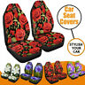 Car Seat Covers Front Rear Seat Back Head Rest Protector Universal Washable  LL