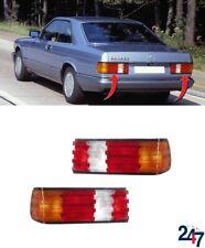 NEW MERCEDES-BENZ W126 1979 - 1991 REAR TAIL LIGHTS PAIR SET N/S O/S LHD