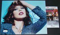 ONE TIME SUPER SALE! Milla Jovovich Signed Autographed 8x10 Photo JSA COA!