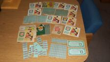 LARGE LOT OF VINTAGE S&H GREEN STAMPS SAVER COUPON BOOKS/STAMPS MANY COMPLETE