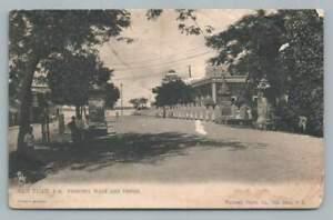 Princesa Walk & Prison SAN JUAN Puerto Rico Antique Waldrop Stamp Philadelphia