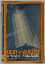 Light in August William Faulkner 1932 first edition Walter P. Chrysler's copy