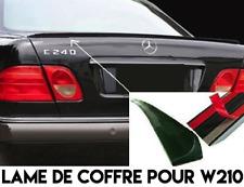 LAME COFFRE SPOILER BECQUET AILERON MALLE pour MERCEDES W210 Classe E 1995-2002