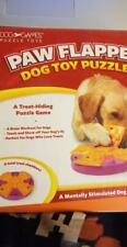 PAW FLAPPER - Dog Toy Puzzle (Eight Chamber Treat-Hiding Game NEW UNUSED (B75)