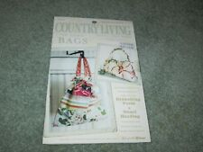 """NEW COUNTRY LIVING SEWING PATTERN """"IN TOWN"""" BAGS  - AMY BUTLER"""