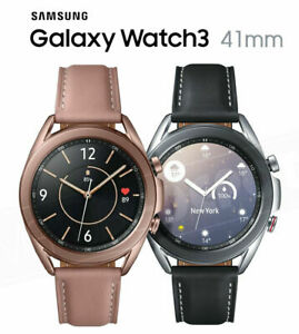 Samsung Galaxy Watch 3 SM-R850 41MM Stainless Steel Bluetooth NEW Sealed