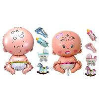 5pcs Boy Girl Baby Shower Foil Helium Balloon Christening Birthday Party Decor