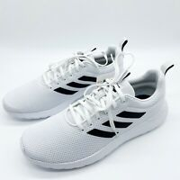 New Adidas Mens Lite Racer Sneakers Athletic Trainer Running Shoes Size 12