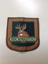Vintage ~ Buckmasters Patch ~ Iron-On / Sew-On