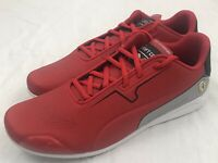 MENS PUMA FERRARI SF DRIFT CAT 8 RED SCUDERIA DRIVING SNEAKER SHOES SIZE 10.5