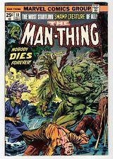 Marvel - THE MAN-THING #10 - Ploog Cover & Art - FN 1974 Vintage Comic