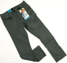 New Signature by Levi Strauss Boys Gray Taper Jogger Denim Jeans 8 Regular