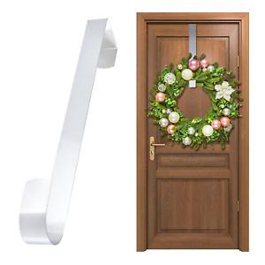 OVER DOOR HANGER WREATH CHRISTMAS HOOK XMAS DECORATION STRONG METAL HOLDER