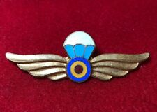 Romanian Air Force Paratrooper badge 1950