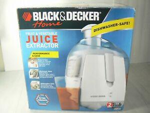 NEW Black & Decker Juice Extractor JE 2100 Juicer Fruits and Vegetables