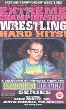 ECW Hard Hits Best of Hard Heaven Series ORIG VHS WWE WWF Wrestling