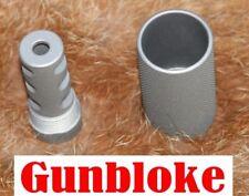 Lithgow LA102 Triple-TAC Plus Muzzle Brake Compensator 14x1mm CERAKOTED TO SUIT