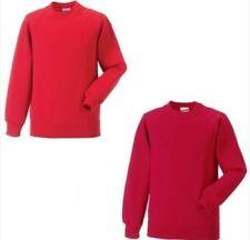 Maglione rossi per bambini dai 2 ai 16 anni taglia 2 anni