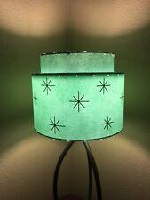 Mid Century Vintage Style 2 Tier Fiberglass Lamp Shade Modern Atomic Retro A/SF