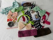 Hair Accessories  Large Lot Bows Bands American Girl Bow Hairagami Scunci Tails
