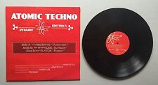 Ref587 Vinyle 33 Tours Atomic Techno 5 Big Bang / Hypnose / FlyTox